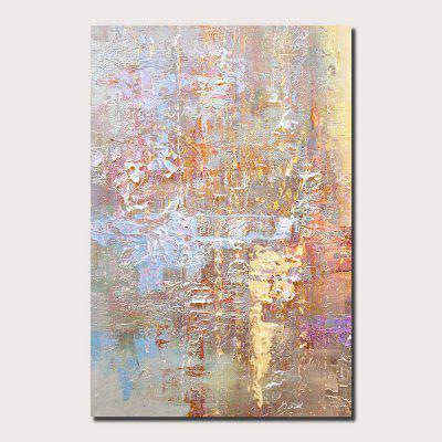 QINGYAZI HQ022 Hand-Painted Abstract Oil Painting Home Wall Art Painting
