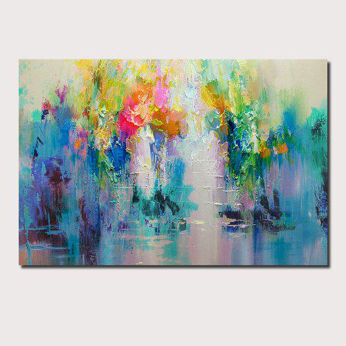 Qingyazi Hq032 Hand Painted Abstract Oil Painting Home Wall Art Painting