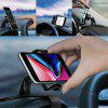 Universal Cell Phone GPS Car Dashboard Mount Holder Soporte HUD Clip en la base 2H - NEGRO