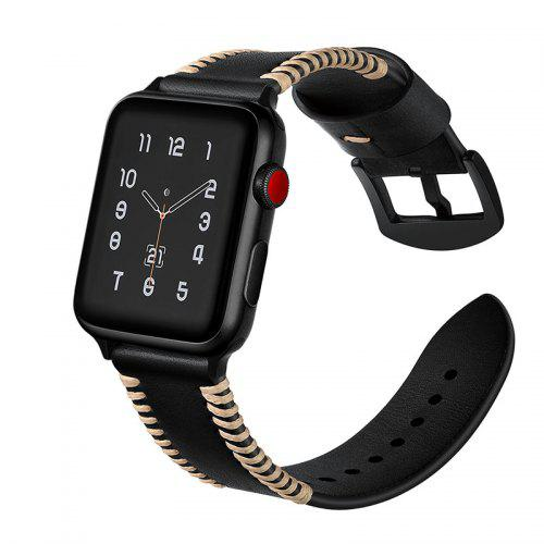 Genuine Leather Watch Band Wrist Strap for Apple Watch Series 4 3 2 1  Wristband
