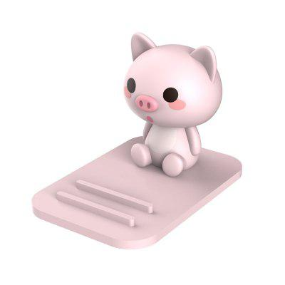 New Kawaii Soft Rubber Cartoon Stand for Mobile Phone Desktop Adjustable Stand
