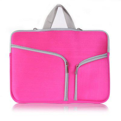 High-End Multi-Function Dual-Pocket Zipper Portable Laptop Bag for 11inch/12inch