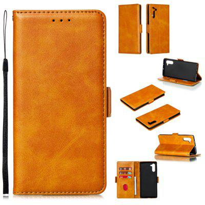 PU-Leder Flip Wallet Phone Case für Samsung Galaxy Note 10