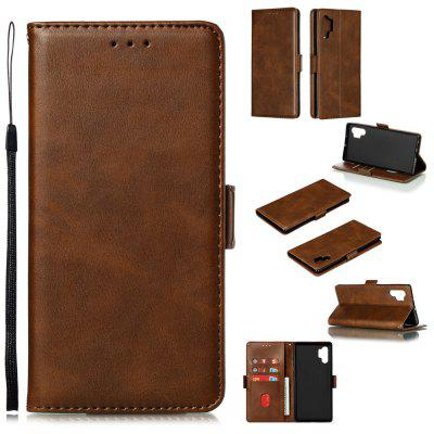 PU Leather Flip Wallet Phone Case for Samsung Galaxy Note 10 Pro