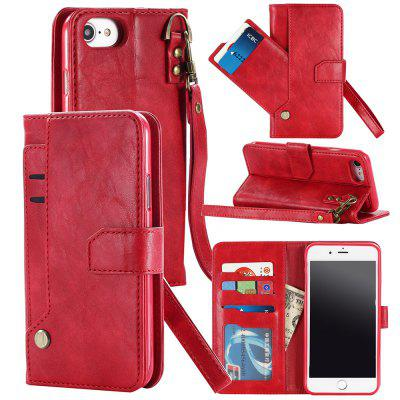 Wallet Phone Case for IPhone 6/7/8 Detachable Leather Magnetic Buckle Slim Cover