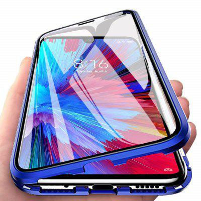 Double-sided Tempered Glass Metal Magnetic Phone Case For Xiaomi Mi 9T / 9T Pro