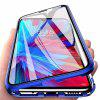 Double Sided Glass Metal Magnetic Phone Case for Xiaomi Redmi Note 7 / Note 7 Pr - BLUE