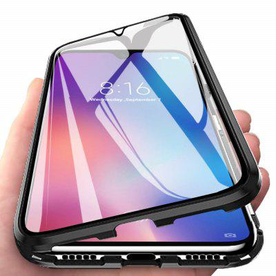 Double Sided Glass Metal Magnetic Phone Case for Xiaomi Mi 9