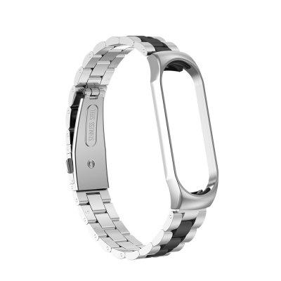Wrist Bracelet Stainless Steel Smart Watch Band Strap for Xiaomi Mi Band 4/3
