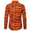 Men's  Autumn and Winter National Wind Long Sleeve Large Size Casual Shirt - MULTI-O