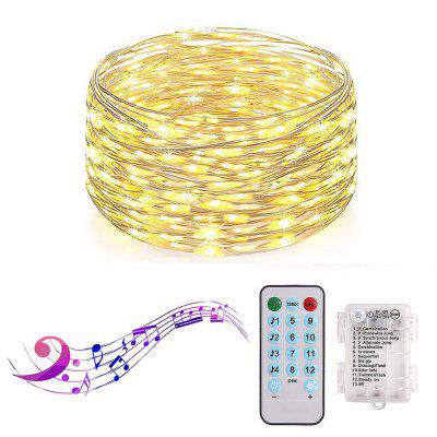 Battery Box 5 Meters Light String 50 LED Waterproof Creative Party Christmas