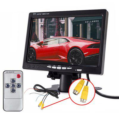 ZIQIAO 7 inch HD auto TFT LCD-scherm HK-interface
