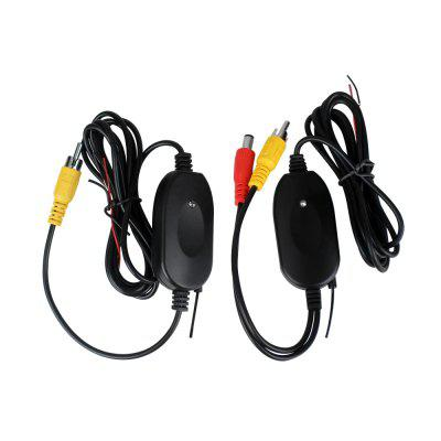 ZIQIAO ZHS-038 2.4Ghz Wireless Rear View Camera RCA Video Transmitter