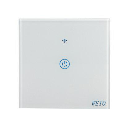 Weto Smart Panel Bluetooth Switch  Voice Control Wifi Remote Touch Switch
