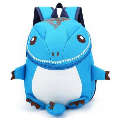 3D Cute Cartoon Dinosaur Kindergarten Primary School Backpack Book Bags for Kids