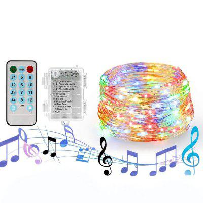 Battery Box 10 Meters Light String 100 LED Waterproof Creative Party Christmas