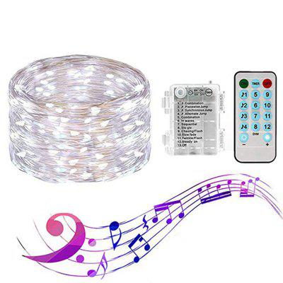 Batterij Box 20 meter Light String 200 LED Waterproof Creative Christmas Party