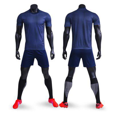 Children and Adults Training Football Suit with Short Sleeves