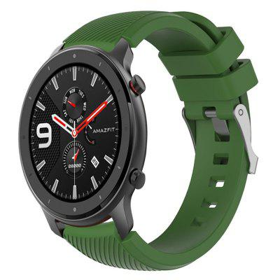 Silicone Watch Band Replacement for Amazfit GTR 47MM