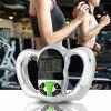 Electronic Measuring Instrument Hot Body Fat Monitor with LCD Screen - GREEN