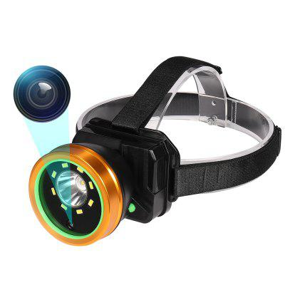 1080P HeadLamp Weather Proof Video Recorder Světlomet venkovní Dv kamera
