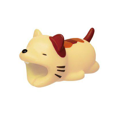 Cute Creature Bites Cables Charger Protector Accessory