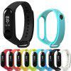 Soft Silicone Replacement Wrist Strap for Xiaomi Mi Band 3 Smart Wristband - YELLOW