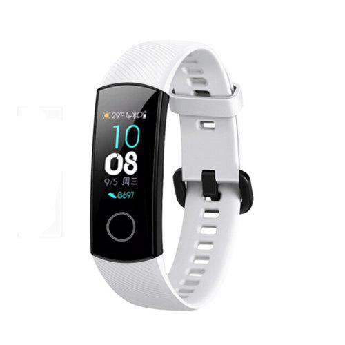 Yeshold Strap for HUAWEI Honor Band 4 / 5 White + Midnight Blue