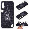 V  TPU Black Bottom Painted Phone Case for Samsung Galaxy A50 - MULTI-I