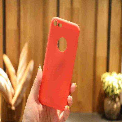 Thick Bottom Matte TPU Solid Color Phone Case for iPhone 7/ 8