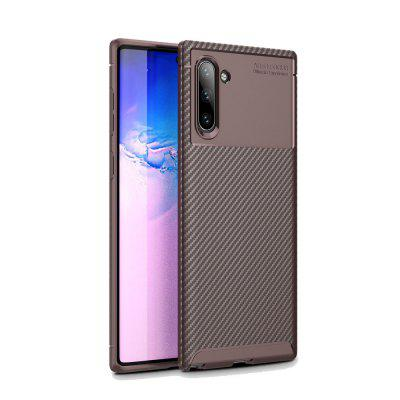 Carbon Fiber Anti-Drop Matte Phone Shell for Samsung Note10 / Note10pro