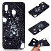 Z  TPU Black Bottom Painted Phone Case for Samsung Galaxy A30 - MULTI-I