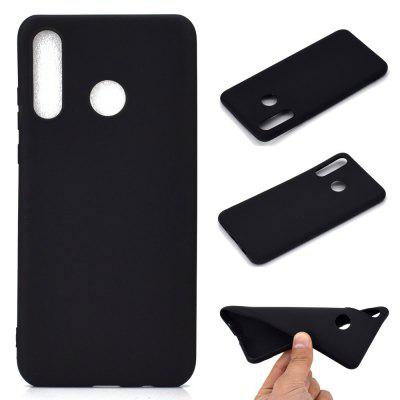 Thick Bottom Matte TPU Solid Color Phone Case for Huawei P30 LITE