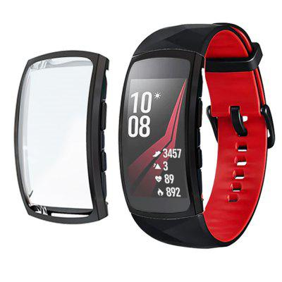 TPU Protection Watch Case Cover Case voor Samsung Gear fit 2 pro
