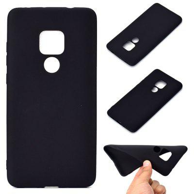 Thick Bottom Matte TPU Solid Color Phone Case for Huawei MATE 20