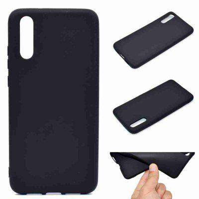 Thick Bottom Matte TPU Solid Color Phone Case for Huawei P20 Pro