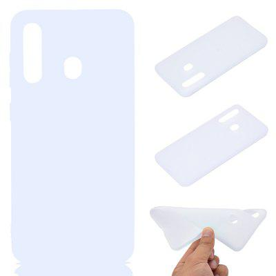 Thick Bottom Matte TPU Solid Color Phone Case for Samsung Galaxy A60/M40