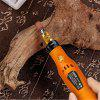 HILDA JD3326C USB Charging Cordless Variable Speed Electric Grinder 3.6V - ORANGE