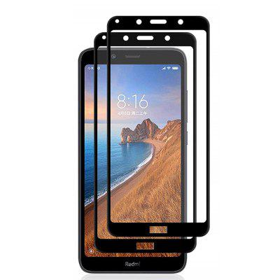 2.5D 9H Hardness Tempered Glass Clear Screen Protector for Xiaomi Redmi 7A 2PCS