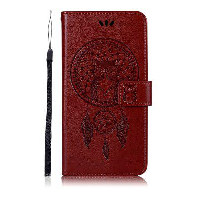 Owl Wind Chimes Flip Wallet Leather Phone Cover for Xiaomi Mi CC9 / A3 Lite Case