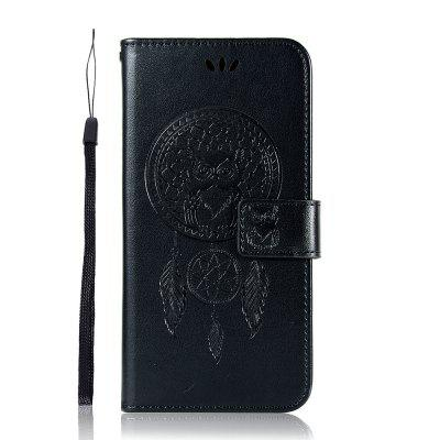 Owl Wind Chimes Flip Wallet Leather Phone Cover for Xiaomi Mi CC9e / A3 Case