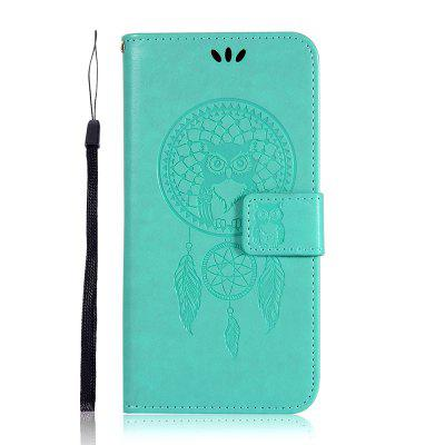 Owl Wind Chimes Flip Wallet Leather Phone Cover for Samsung Galaxy Note 10 Case