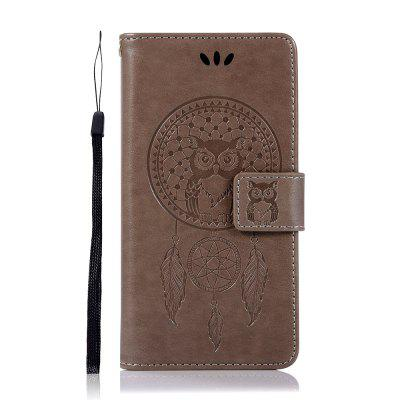 Owl Wind Chimes Flip Wallet Phone Cover pre Samsung Galaxy Note 10 Pro Case