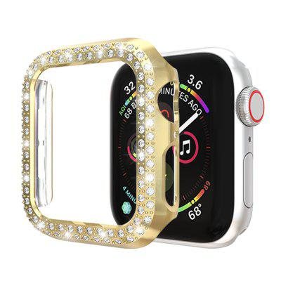 Bling Crystal Diamonds PC Protective Case for Apple Watch IWatch 44MM