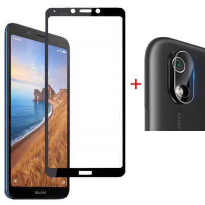2 in 1 Lens Camera Screen Protector for Xiaomi Redmi 7A