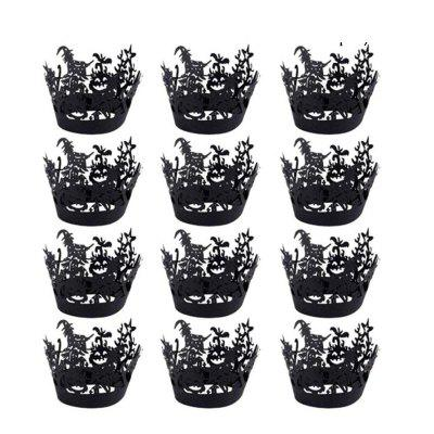 Halloween Hollow-Out Paper Cup 12PCS