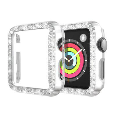 Bling Crystal Diamonds PC Protective Case for Apple Watch 38MM