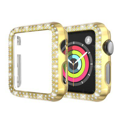 Bling Crystal Diamonds PC Protective Case for Apple Watch 40MM