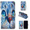 Painted Inner Print PU Phone Case pour iPhone Xr - MULTI-H