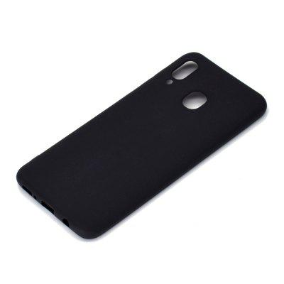 A Thick Bottom Matte TPU Solid Color Phone Case for Samsung Galaxy A30/A20